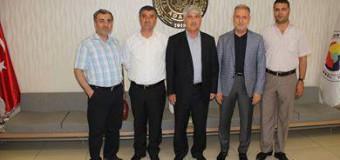 Adana Ticaret Borsası Yeni Meclis Başkanı Sebahattin Yumuşak'a Ziyaret