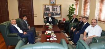 Adana Valisi Sayın Mahmut DEMİRTAŞ'a Ziyaret