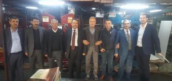 MARDAV'dan, Halil Arslan ve Orhan İlhan'a ziyaret