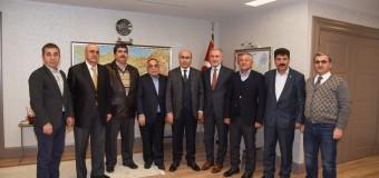 Adana Valisi Mahmut DEMİRTAŞ'a Ziyaret