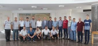 MARDAV Vakfı Yeni Binasında Mardin'li Hemşerileriyle Bayramlaştı
