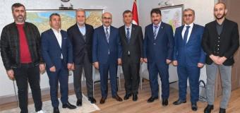 MARDAV'dan Adana Valisi DEMİRTAŞ'a Ziyaret